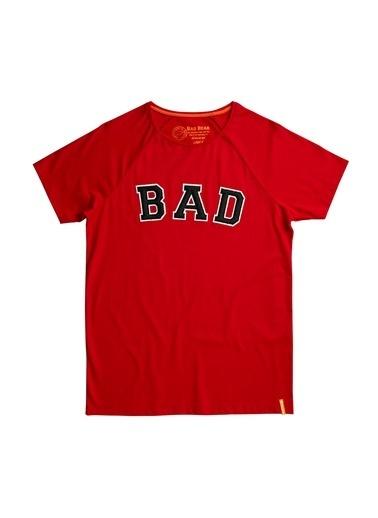 Bad Bear Erkek Tişört Bad Convex 200107026-Wht Kırmızı